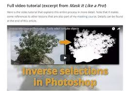 16 answers how to invert your selection in photoshop