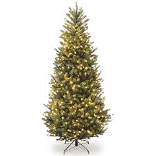 the aisle 7 5 fraser slim fir hinged tree with