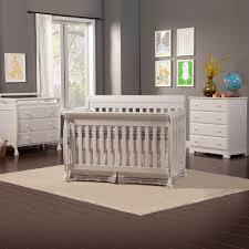 Davinci Kalani 4 In 1 Convertible Crib With Toddler Rail by Da Vinci 3 Piece Nursery Set Kalani Convertible Crib Kalani 3