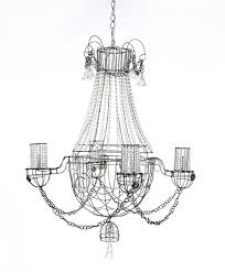 Wire Chandeliers 20 Best Barbed Wire Chandelier Images On Pinterest Wire