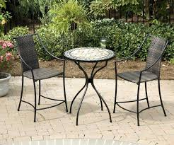 Patio High Top Table Small Patio Table And Chairs Home Design