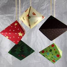 origami ornaments folded by y ho flickr