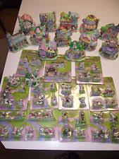 hoppy hollow easter 61pc easter bunny houses accessories hoppy hollow