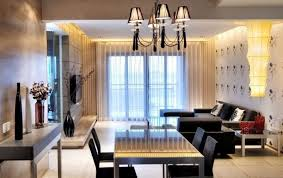 Modern Living And Dining Room Design Latest Gallery Photo - Dining and living room design