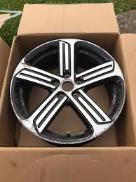 volkswagen golf wheels used 2017 wheels u0026 tyres 18 inch for sale in herts pistonheads