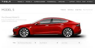 Buy 2nd Hand Car Los Angeles Tesla Launches An Online Marketplace To Sell Used Model S