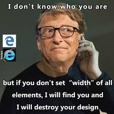 Web Design Memes - edge ie bill gates meme idontknowwhoyouare bill billgates