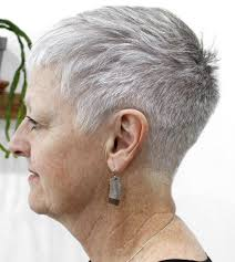above the ear haircuts for women 60 gorgeous hairstyles for gray hair