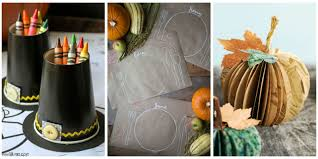 Thanksgiving Party Games Kids 23 Fun Thanksgiving Crafts For Kids Easy Diy Ideas To Make For