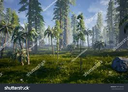3d render what hell creek may stock illustration 387125233