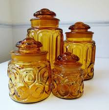 Glass Canister Sets For Kitchen by 229 Best Kitchen Canisters Vintage Images On Pinterest Kitchen