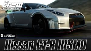 nissan gtr all wheel drive the crew calling all units nissan gt r nismo gt r r35 perf spec
