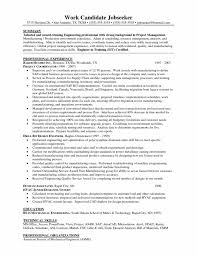 Job Desk Project Manager 15 Best Photos Of Excellent Project Manager Resume Template With