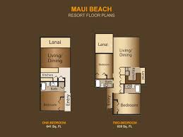 lawai beach resort floor plans maui beach vacation club paradise timeshare resale