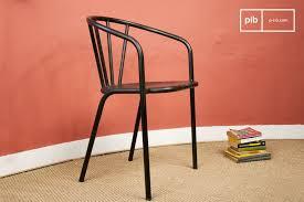 chaise m tallique chaise métallique brienon un siège en métal typé pib