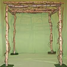 wedding chuppah rental birch chuppah for rent westchester ny party rental nj ct x