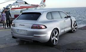 porsche concept cars concept flashback 2005 rinspeed chopster vs porsche cayenne turbo s