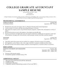 best resume for recent college graduate sle resumes for recent college graduates