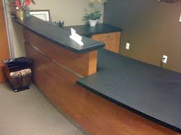 Commercial Reception Desk Reception Desk Feist Cabinets And Woodworks Inc