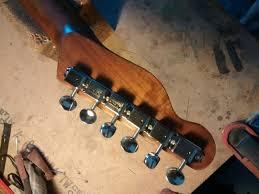 flame cherry telecaster style guitar custom fender tele tstyle