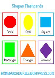 free printable shapes