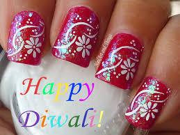 bright floral and digital printing nail art for brides