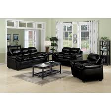 Cool  Living Room Decorating Ideas With Black Leather Furniture - Black living room chairs