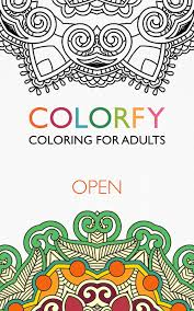 colorfy coloring book for adults best free app amazon co uk