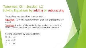 algebra 1 chapter 1 ms fisher ppt video online download