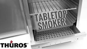 table top electric smoker thüros tabletop smoker youtube