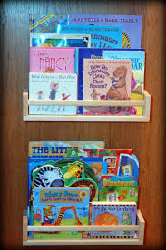 ikea book shelves spice racks pink polka dot creations