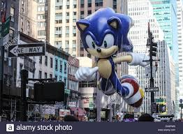 sonic the hedgehog stock photos images sonic the hedgehog annual macy thanksgiving day parade featuring where