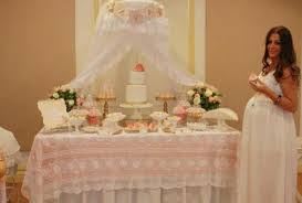 vintage baby shower decorations stunning looked in white theme combined to soft pink additional lots