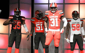 brown s day cleveland browns reveal new uniforms live updates cleveland