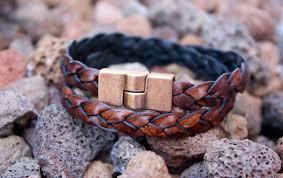 mens copper bracelet 7th anniversary gift boyfriend
