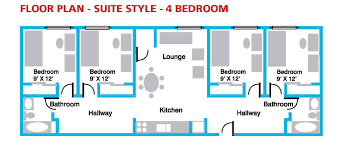 residence floor plans canadore college