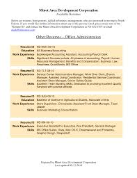 office administrator resume office administrator business letters