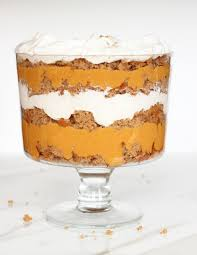 pumpkin butterscotch spice cake trifle the gold lining