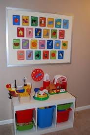 fancy kid room wall decoration with alphabet card wall decor