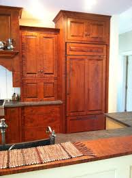tiger maple wood kitchen cabinets beautiful tiger maple kitchen with benner s woodworking