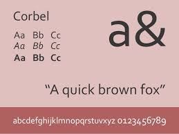 Download Corbel Font Six Safe Fonts To Use In Your Presentations