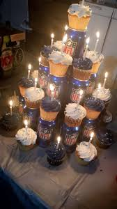 budweiser beer cake football and beer birthday cupcakes happy birthday pinterest