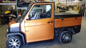 Lsv Truck Low Speed Vehicle Street Legal Truck Golf Cart For Sale