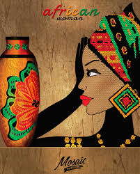 African Vases African Woman Clipart African Design African Clip Art