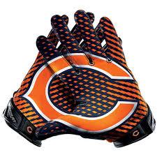 Chicago Bears Nike Chicago Bears Vapor Jet 2 0 Team Authentic Series Glove