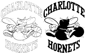 charlotte hornets logo coloring page sketch coloring page