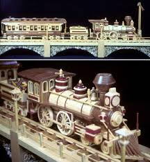 Build Your Own Wooden Toy Train by 04 Fs 120 Iron Horse Train Scroll Saw Pattern Scroll Saw