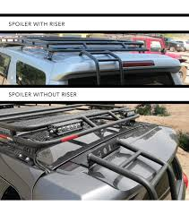 2004 Tacoma Roof Rack by Gobi Toyota 4runner 2002 2009 Rear Ladder Driver Side With
