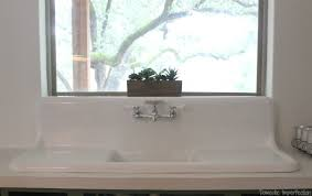 Vintage Kitchen Sinks For Sale The Search For A Vintage Farmhouse Sink Domestic Imperfection
