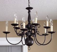 Dining Lights 25 Best Spray Painted Chandelier Ideas On Pinterest Paint